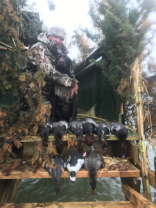 Waterfowl and Duck Hunting, Cape Hatteras, Outer Banks, Stake Blind
